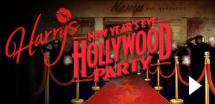 Harry's Bar 2018 Hollywood New Years Eve Party